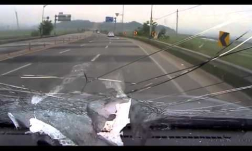 DashCam videos of car accidents
